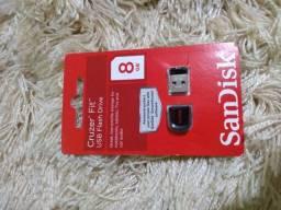 Combo 2 Micro Pen Drive SanDisk Cruzer Fit 04GB e 08GB