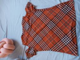 Blusa feminina Xadrez