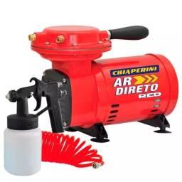 Título do anúncio: Compressor Ar Direto 1/3 HP BIVOLT RED com Kit CHIAPERINI