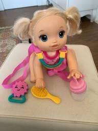 Título do anúncio: Boneca baby alive original