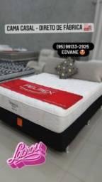 Título do anúncio: CAMA CASAL MOLA LFK - ESPUMA D65 ENTREGA GRÁTIS