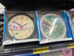 Título do anúncio: Relógio de parede pequeno 15 reais cada
