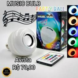 Music bulb party ball