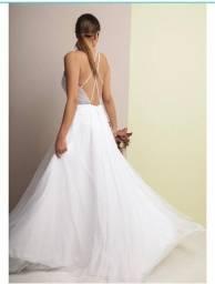 """Vestido de noiva marca """"O Amor é Simples"""""""
