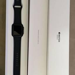 Apple watch serie 3, com caixa, certinho