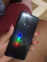 Galaxy A31 128gigas 4gigas 5G grafite aparelho e carregador