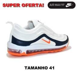 Tênis Nike Air Max 97 cinza claro -tamanho 41 - R$129,99