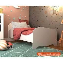 Título do anúncio: Mini Cama Infantil Uli 100% MDF - Peroba (Promoção)