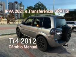 Pajero Tr4 2012 Manual (IPVA 2021 e Transferência GRÁTIS)