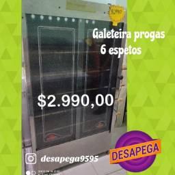 GALETEIRA progas 6 espetos desapega