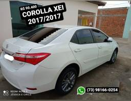 Título do anúncio: Corolla XEI 2017/2017