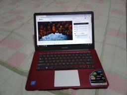 Notebook positivo HD sdd 32 RAM 2 GB processados quad-core