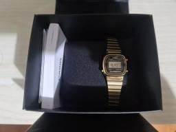 Título do anúncio: Relógio Casio Vintage Dourado