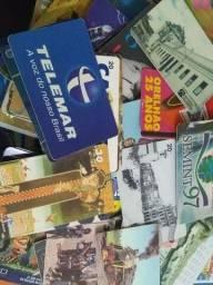 Lote Único de 775 Cartões de Telefone.