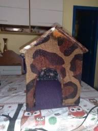 Casinhas pet pelúcia/tecido gato/cachorro