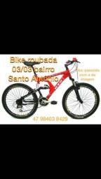 Bike roubada, ofereço recompensa
