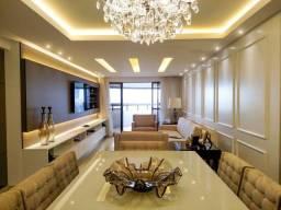 Mobiliado 127 m2 em andar alto com mega estrutura no Grandmare