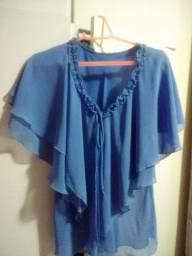 Blusa azul N.42