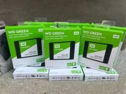 SSd WD  Green 240 G  novo