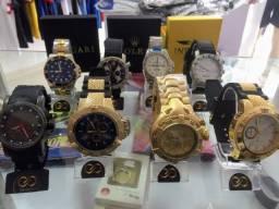 Título do anúncio: Pacote Revendedor Colecionador Premium Relógios Invicta Rolex Bvlgari