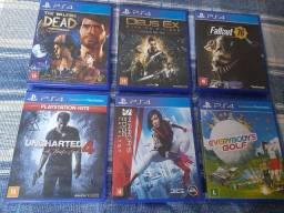 Jogos PlayStation 4 Mídia Física