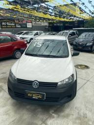 VW Saveiro cs AR, DH e GNV Carro muito novo 2015