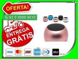 Título do anúncio: Entregamos-=gratis.-Caixinha Som Bluetooth Tws Metal Mini Speaker 3w Portáti