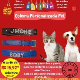 Coleira Personalizada Pet