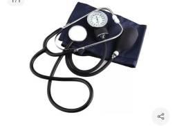 Título do anúncio: aparelho de pressão manual esfigmomanômetro + estetoscópio