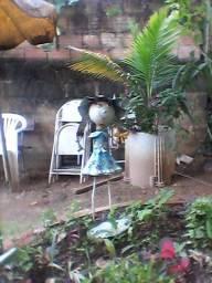 Reliquia boneca palito de ferro   enfeitar jardim  300 reais
