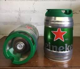 Barril Heineken Vazio de 5 Litros