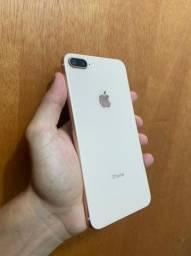 iPhone 8plus gold 64gb Vitrinni + Garantia