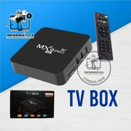 Título do anúncio: Tv box Mxq Pro 4k 5G- Loja DL Informática