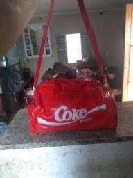 Bolsa sacola academia coca-cola