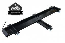 motoboard plataforma para manobrar moto