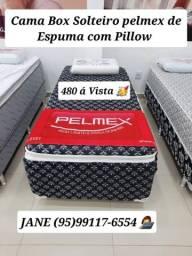 Título do anúncio: CAMA BOX DE ESPUMA SOLTEIRO