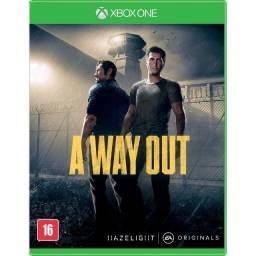 A Way Out - Xbox One Mídia física Lacrado