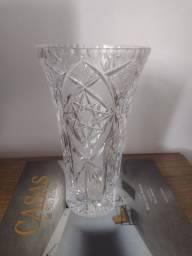 Vaso de cristal Tcheco