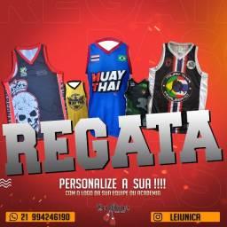 Camiseta basquete para equipe de MuayThai