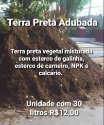 Título do anúncio: Terra Preta Adubada