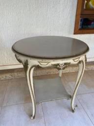 Mesa de canto antiga estilo Luiz XVI
