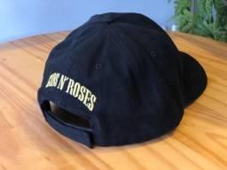 Boné Guns N Roses 6 gomos com estampa bordada