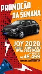 Chevrolet Onix Joy 1.0 (Flex)  4P 2019/2020 - Completo -IPVA 2021 PAGO