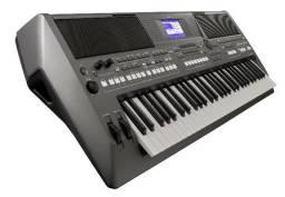 Teclado Yamaha PSR S670 - novo - nota fiscal - garantia