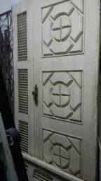 Porta de Madeira Muiracatiara