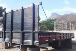 Carroceria madeira, para caminhão truck, marca scheile