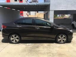 Honda City Exl Automático KM 47400. Top de linha - 2015