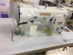 Maquina de costura zigue-zague industrial Singer nova