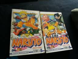 Livro manga Naruto vol.1 e 2