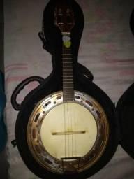 Vendo Banjo Rozini e pandeiro artesanal Balafon